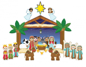 Nativity Wall Decal Set