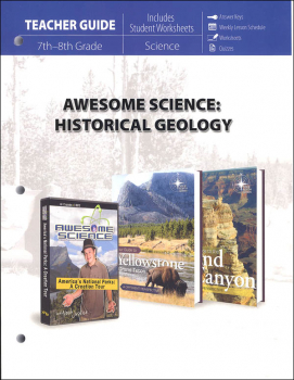 Awesome Science Historical Geology Teacher's Guide