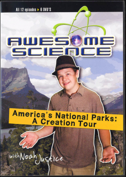Awesome Science: America's National Parks Creation Tour DVDs