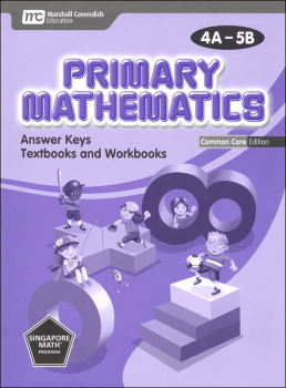 Primary Mathematics Common Core Edition Answer Key Booklet 4A-5B