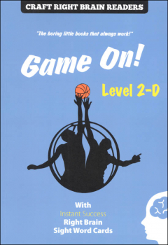 Game On Level 2-D (Craft Right Brain Readers & Cards)