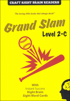 Grand Slam Level 2-C (Craft Right Brain Readers & Cards)