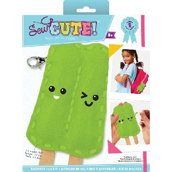 Sew Cute Felt Keychain Kit Popsicle