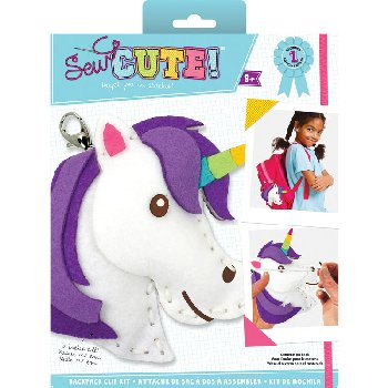 Sew Cute Felt Keychain Kit Unicorn