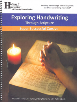 Exploring Handwriting Through Scripture: Cursive