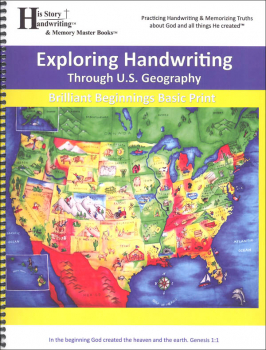 Exploring Handwriting Through US Geography: Print