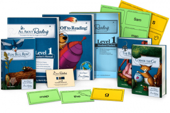 All About Reading Level 1 Materials Color Edition
