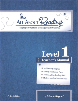 All About Reading Level 1 Teacher Manual Color Edition