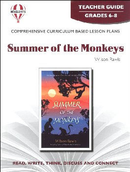 Summer of the Monkeys Teacher Guide