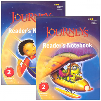 Journeys Reader's Notebook Consumable Collection Grade 2