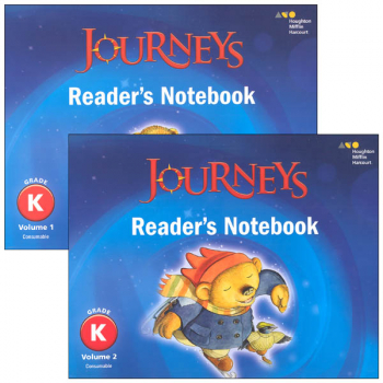 Journeys Reader's Notebook Consumable Collection Grade K