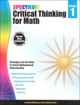 Spectrum Critical Thinking for Math 1
