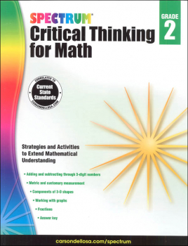 Spectrum Critical Thinking for Math 2
