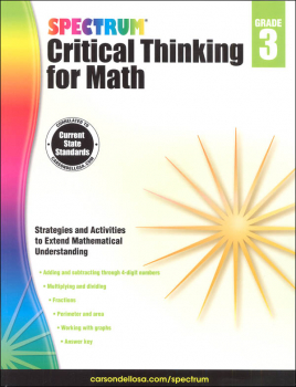 Spectrum Critical Thinking for Math 3