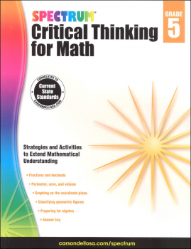 Spectrum Critical Thinking for Math 5