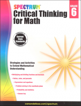 Spectrum Critical Thinking for Math 6