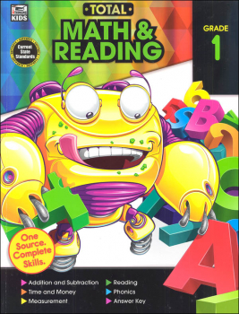 Total Math and Reading: Grade 1