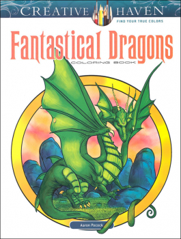 Fantastical Dragons Coloring Book (Creative Haven)