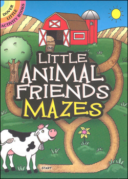 Little Animal Friends Mazes