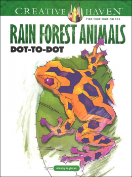 Rain Forest Animals Dot-to-Dot (Creative Haven)