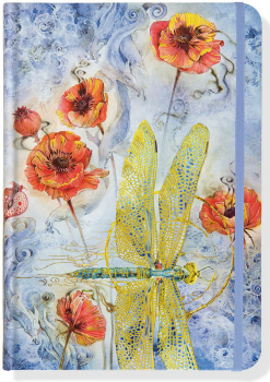 Indigo Dragonfly (Small Journal Format)