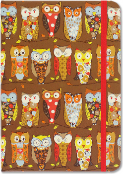 Perching Owls (Small Journal Format)