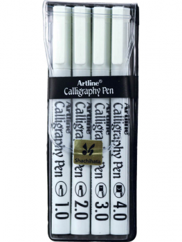 Calligraphy Pens - Black (4 pack)