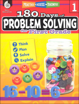 180 Days of Problem Solving for First Grade