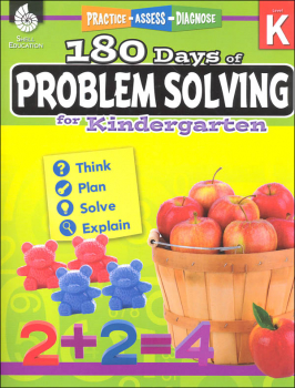 180 Days of Problem Solving for Kindergarten