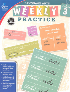 Language Arts Weekly Practice: Grade 3