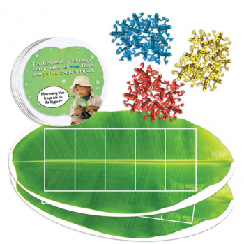 Froggy Ten-Frame Math Kit (Sensational Math)