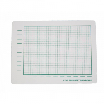 "Bar Chart Grid Board Two-Sided 9"" x 12"""