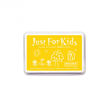 Yellow Just for Kids Ink Pad