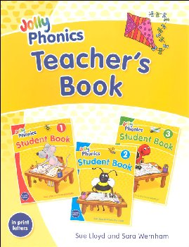 Jolly Phonics Teacher's Book Color Edition