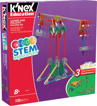 Stem Explorations: Levers & Pulleys Building Set