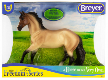Breyer Classics Bay Roan Australian Stock Horse (Freedom Series)