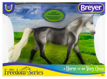 Breyer Classics Grey Saddlebred (Freedom Series)