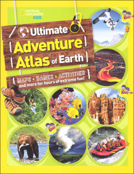 Ultimate Adventure Atlas of Earth (National Geographic Kids)