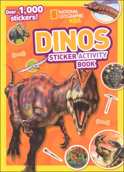 Dinos Sticker Activity Book (National Geographic Kids)