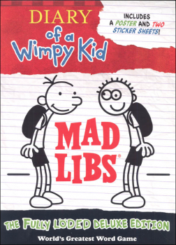 Diary of a Wimpy Kid Mad Libs: Fully Loded Deluxe