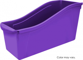 Book Bin Large - Purple