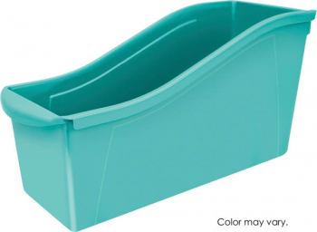 Book Bin Large - Teal