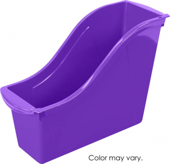 Book Bin Small - Purple