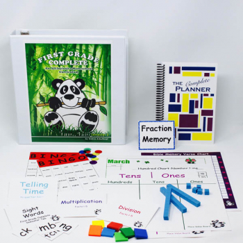 First Grade Complete: Semester 2 Bundle