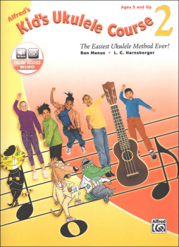 Alfred's Kid's Ukulele Course 2: Book & Online Audio