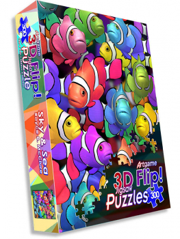 Sky & Sea 3D Flip Puzzle (300 pieces)