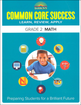 Barron's Common Core Success: Grade 2 Math