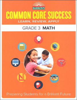Barron's Common Core Success: Grade 3 Math