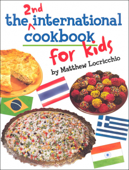 2nd International Cookbook for Kids