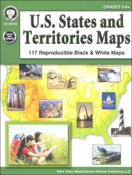 U.S. States and Territories Maps